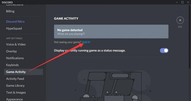 Add Program to Discord App